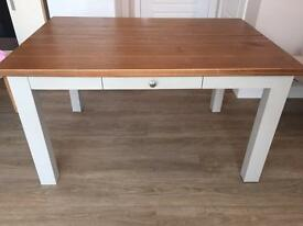 Next Hartford painted dining table cream/grey