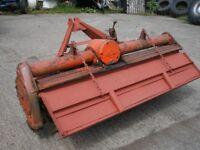 tractor power harrow lely