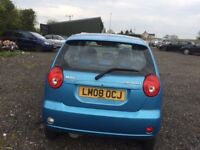 CHEVROLET MATIZ BLUE 5 DOOR 2008