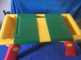 LEGO play and storage tray / table