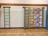 Climbing Frame/Wall (attaches to a wall)