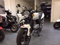 Sinnis Stealth 125cc Manual Motorcycle, 1 Owner, Low Miles, Only £479 Dep 0% APR Finance Available