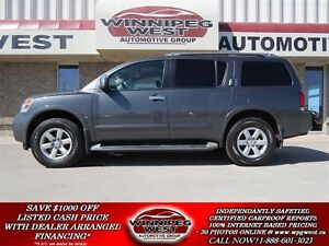 2010 Nissan Armada SE EDITION 4X4, 8 PASSENGER, LOADED, EXTRA CL