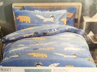 New NEXT Boys Children Bedding Set SINGLE bedset bed set Duvet Pillowcase Wild Animal
