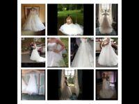 Ladies Wedding Dress size 10-12
