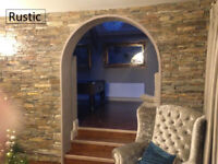 Rustic Z Type Stone cladding natural stone cladding