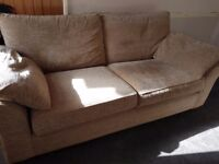 2 x Next 3 seater Sofas VGC