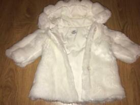 Various baby girls coats 6-9 & 9-12 months