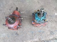slurry pump gear boxes