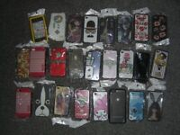 Job lot, i phone 3,4 rear covers, over 2000, many different designs