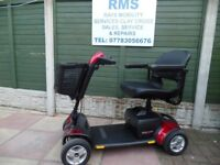 mobility scooter car boot 4mph Pride Gogo Elite Sport. In showroom condition