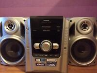 5 disk changer CD player Panasonic