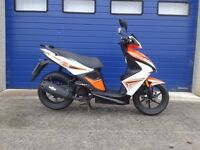 2014 KYMCO SUPER 8 50CC SPORT MOPED , JUST SERVICED AND FULLY WORKING LOW MILES