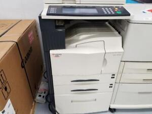 Pre-owned Kyocera KM-4035 Black and White A3 11x17 Multifunction Printer Copier Scanner Fax Monochrome printer. 11X17 A3