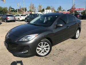 2013 Mazda MAZDA3 GT / LEATHER / NAV / SUNROOF