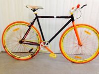 Single Speed Fixie Light weight fully serviced