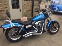 Harley-Davidson Dyna Fat Bob (FXDF) - ONLY 1317 Miles - Immaculate