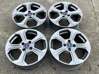 "17"" Ford Fiesta ST Alloy Wheels 4x108."