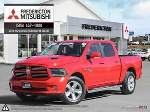 2015 Ram 1500 SPORT! CREW! HEATED/COOLED LEATHER!