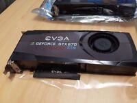 2x Nvidia 2gb GTX 670ftw gpu