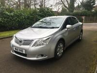 TOYOTA AVENSIS T2 D-4D 2011 NEW SHAPE 2.0 DIESEL LOADS OF EXTRAS LONG MOT 1 OWNER FROM NEW 6 SPEED