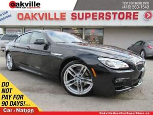 2017 BMW 6 Series xDrive | LEATHER | SUNROOF | HUD | NAVI | B/U