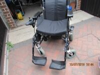 Enigma Energi+Power Chair with Charger and owners handbook