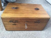 Antique storage box