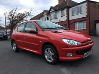 Peugeot 206 2006 1.4 DIESEL £30 road tax for year