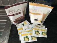 Juice plus milkshake and boosters