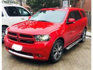 2013 Dodge Durango RT AWD Leather 7 Passenger Sunroof GPS HEMI