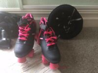 Roller Derby Roller Skates Women's Size 7 (Including safety equipment)