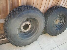 landrover rims and styres