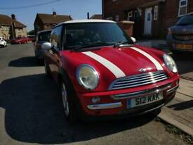 Mini Cooper R50 2003 1.6 Long MOT