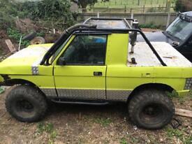 Off road Range Rover pick up