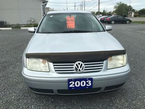 2003 Volkswagen Jetta Wolfsburg Ed 1.8L 5sp Kingston Kingston Area image 2