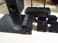 Pioneer Home Cinema 5.1 system (faulty)