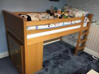 ** ASPACE ** NEWPORT MID SLEEPER AND MATCHING SET OF 4 DRAWERS