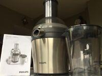 Juicer (Fruit & Veg) Philips HR1871 - Complete Kit inc Juice Jug