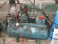 large compressor old but works great built to last