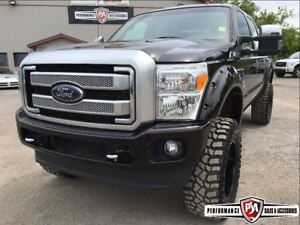 2014 Ford F-350 PLATINUM LIFTED POWERSTROKE!!