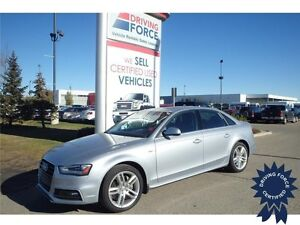 2015 Audi A4 Technik plus Quattro - Active Suspension, 31,420 KM