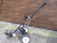Golf Hill Billy Powered Golf Trolley, Battery & Charger & Golf Bag
