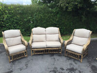 Conservatory Furniture (Sofa + 2 Chairs)
