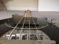 Vintage V96 Active Bass + Gig Bag + Lead + Tuner