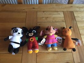 BRAND NEW BING PLUSH TOY COLLECTION