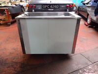 commercial display fridge , cooker ,pizza counter fridge , dishwasher , convection oven