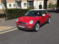 STUNNING UNMARKED MINI COOPER 1.6 PETROL MANUAL 3DR HATCH LONG MOT FSH 2002(02)