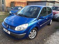 2006 Renault scenic 1.6 mpv 12 months mot/3 months warranty