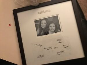 Autograph Wedding Frame